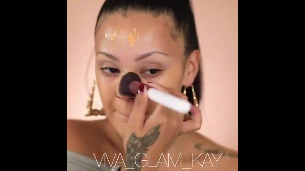 Transformação Incrível com maquiagem