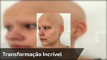 Transformação Incrível - O Cabelo E A Maquiagem Levantam A Auto Estima Da Mulher