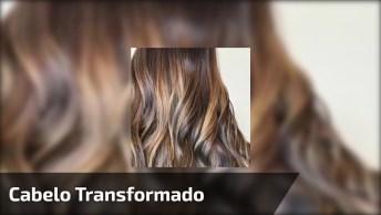 Transformação Linda De Cabelo, Olha Só Como Era E Como Ficou!