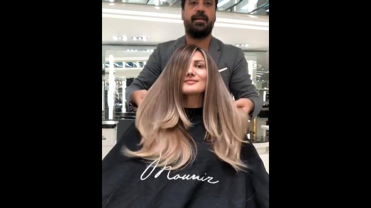 Transformação maravilhosa de cabelo