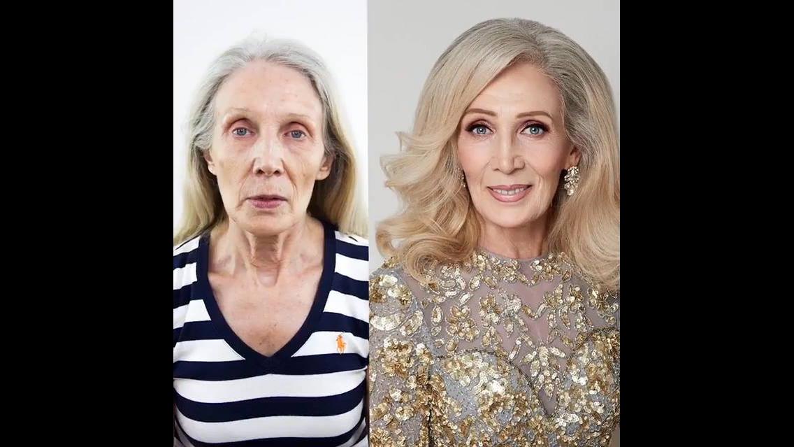 Transformação para pele madura, vale a pena conferir e compartilhar!