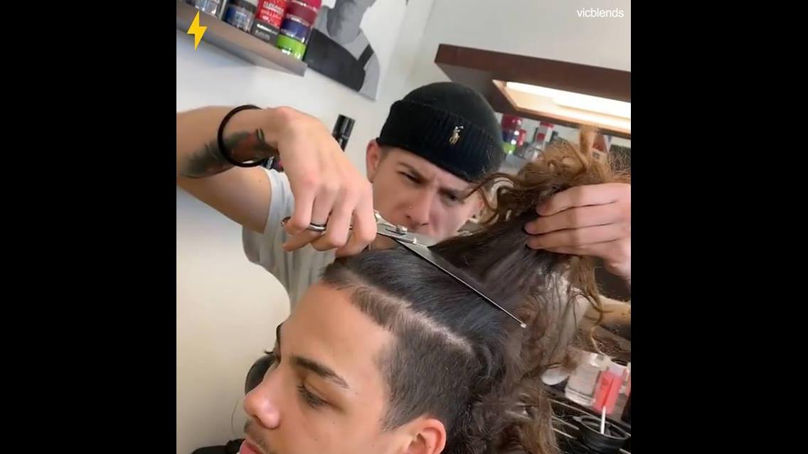 Transformações de cabelos masculinos, veja estes antes e depois!!!