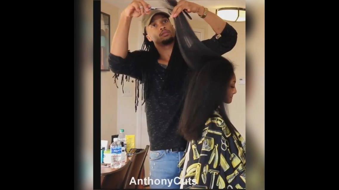 Transformações em cabelos de mulheres negras