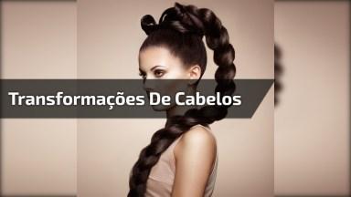 Transformações Incríveis De Cabelos, São Cortes, Cores, Muita Inspiração!