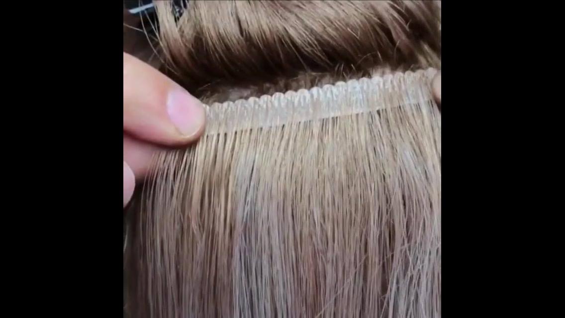 Transformando um cabelo de boneca curto em um longo