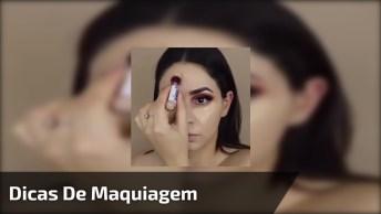 Truques De Maquiagens Para Ficar Ainda Mais Linda, Confira!