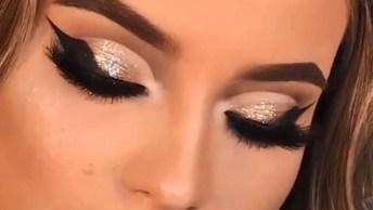 Tutoriais De Maquiagens Perfeitas, Uma Mais Linda Que A Outra, Confira!
