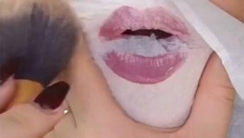 Tutoriais De Maquiagens Usando Coisas Inusitadas, Você Vai Adorar!