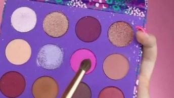 Tutorial Completo De Maquiagem, Com Sombra Verde, Olha Só Que Linda!