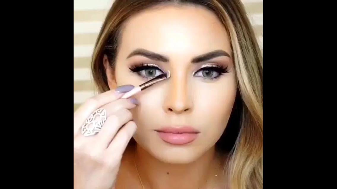 Tutorial de como afinar o nariz com maquiagem