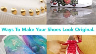 Tutorial De Como Customizar Tênis E Sapatos E Deixa-Los Bem Mais Lindinhos!