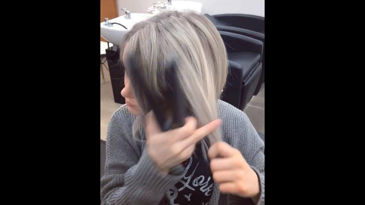 Tutorial de como enrolar os cabelos com a chapinha