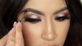 Tutorial De Correção De Sobrancelhas Com Maquiagem, Olha Só Que Perfeição!