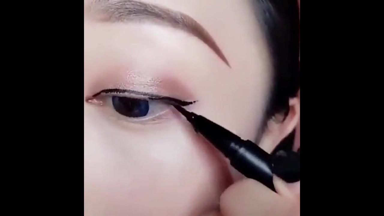Tutorial de delineado para olhos orientais