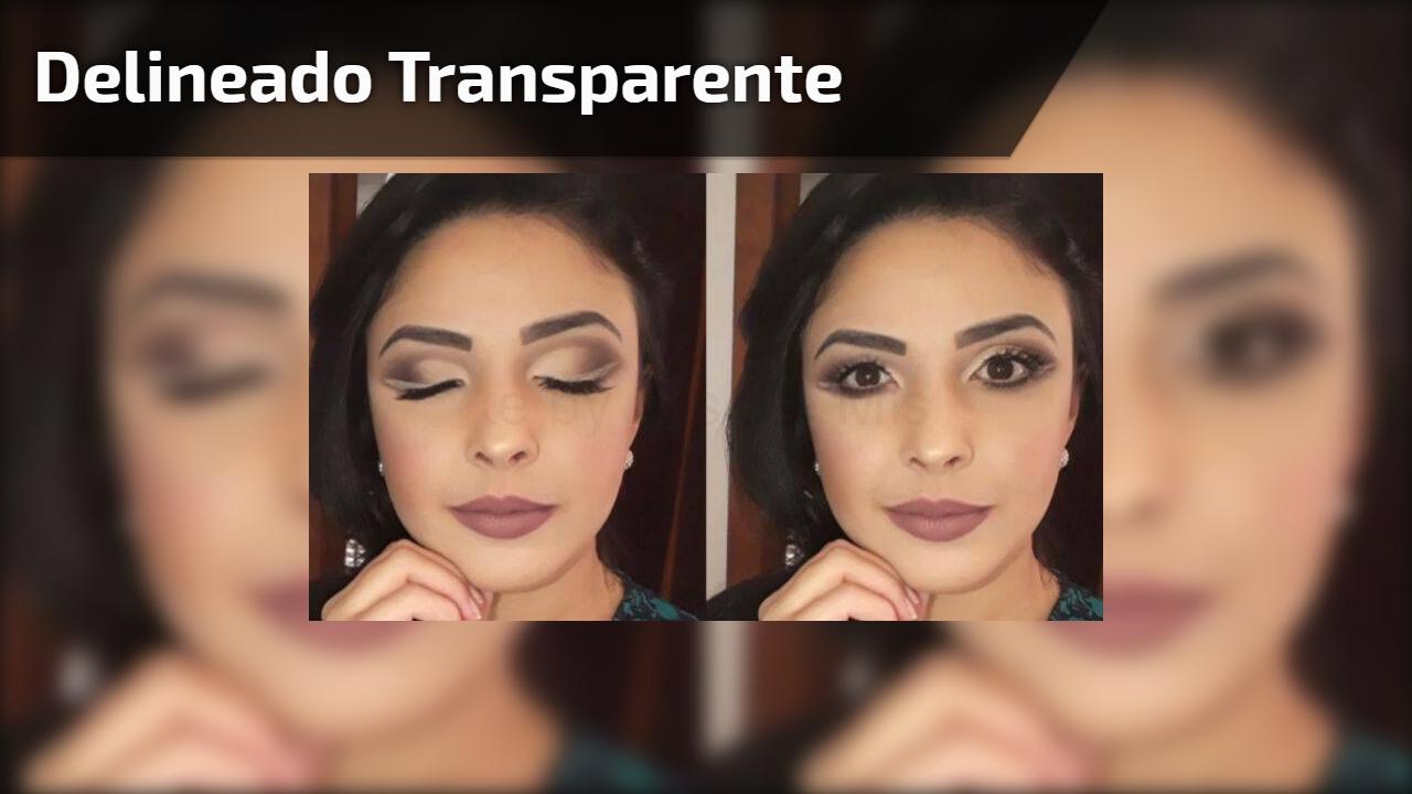 Delineado transparente