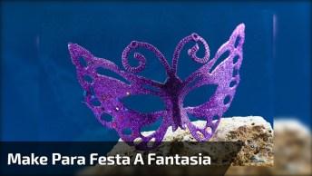 Tutorial De Linda Maquiagem Para Festa A Fantasia, Vale A Pena Conferir!