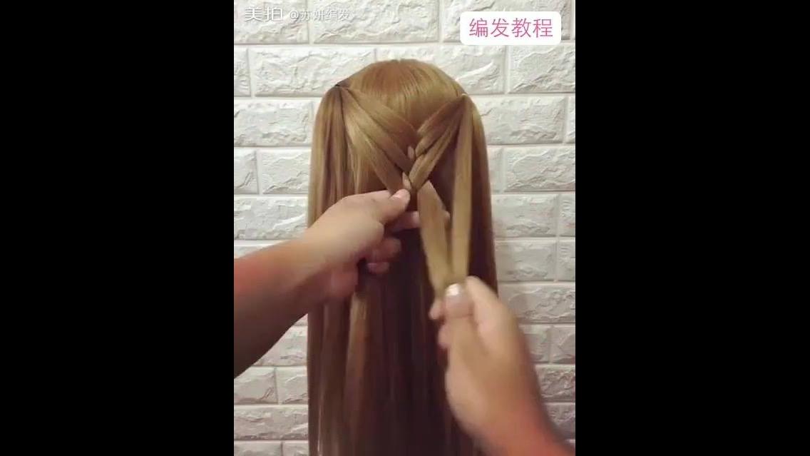 Tutorial de lindos penteados para você fazer em suas filhas!!!