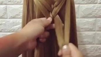 Tutorial De Lindos Penteados Para Você Fazer Em Suas Filhas!