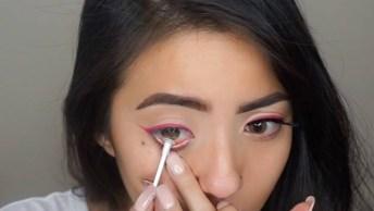 Tutorial De Maquiagem Com Batom Vermelho, Você Vai Pirar No Resultado Final!
