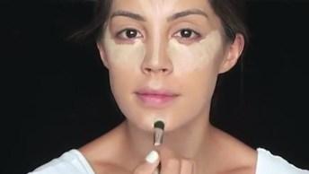 Tutorial De Maquiagem Com Efeito Natural, Veja Que Pele Bem Preparada E Leve!