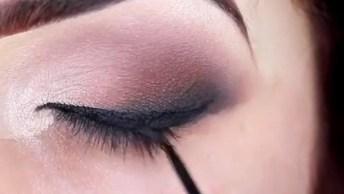 Tutorial De Maquiagem Com Olhar Marcante, Você Vai Pirar Com O Resultado!