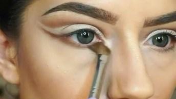 Tutorial De Maquiagem Com Olhos Marcantes, Olha Só Que Perfeita!