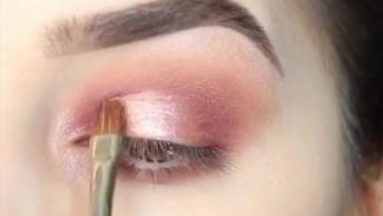 Tutorial De Maquiagem Com Olhos Marcantes, Resultado Maravilhoso!