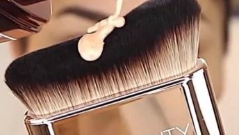 Tutorial De Maquiagem Completa Com Preparação De Pele, E Sombra Rosa!