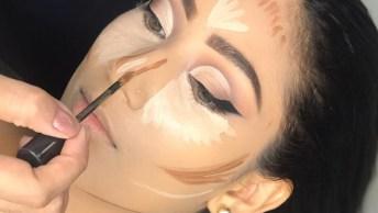 Tutorial De Maquiagem Completa Para Eventos Festivos, Confira!