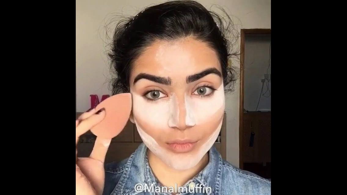 Tutorial de maquiagem completo com sombra marrom metálica e delineado