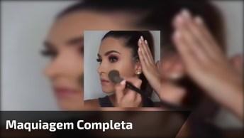 Tutorial De Maquiagem Completo, Veja O Vídeo E Se Apaixone Pelo Resultado!