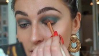 Tutorial De Maquiagem Incrível, Vale A Pena Conferir E Compartilhar!