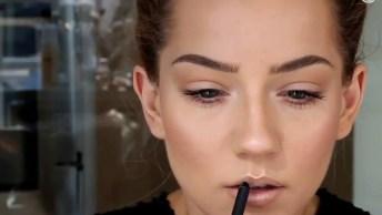 Tutorial De Maquiagem Natural Para Usar No Dia A Dia, Vale A Pena Conferir!