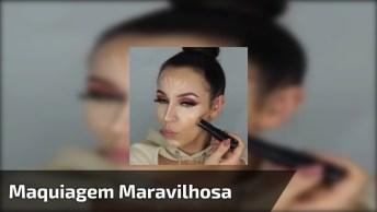Tutorial De Maquiagem, O Resultado Vai Te Deixar Impressionada!