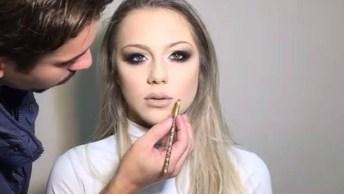 Tutorial De Maquiagem Para Aprender Ainda Hoje, Muito Linda Essa Make!