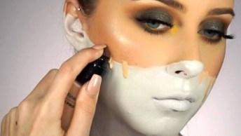 Tutorial De Maquiagem Para Carnaval, Olha Só Que Ideia Genial!