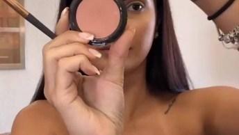Tutorial De Maquiagem Para Compartilhar No Facebook, Muito Bonita!