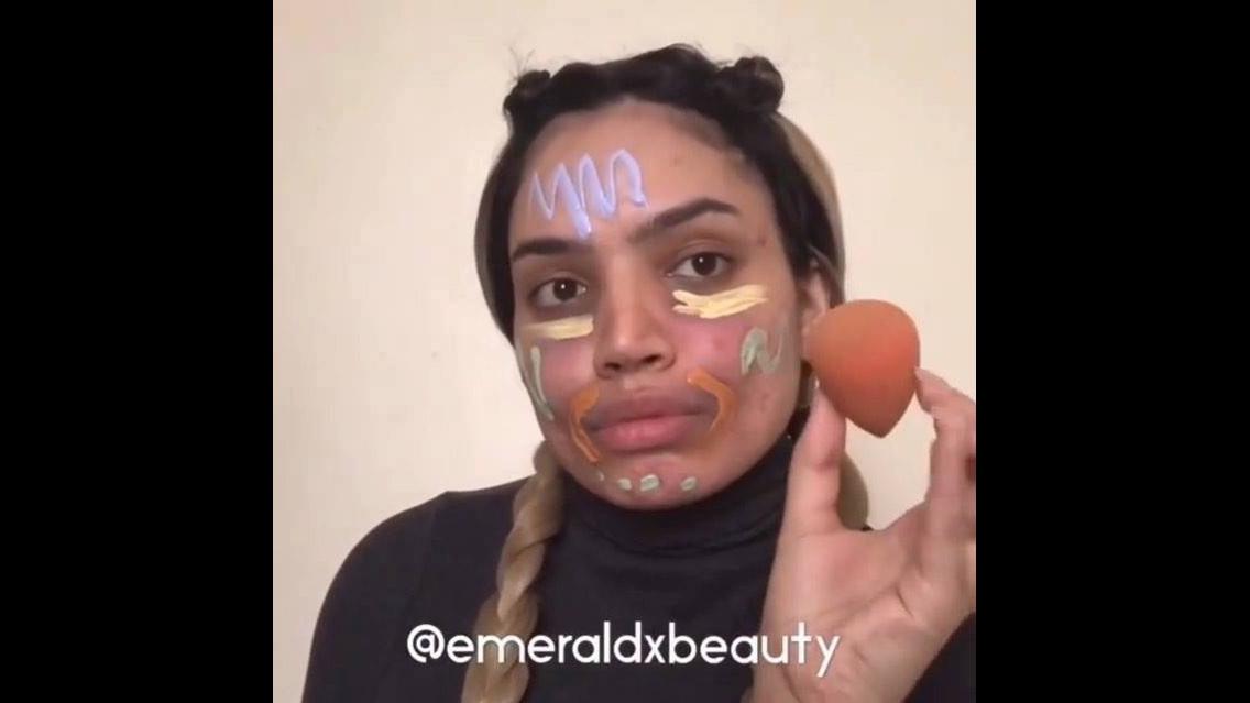 Tutorial de maquiagem para esconder olheiras e manchas