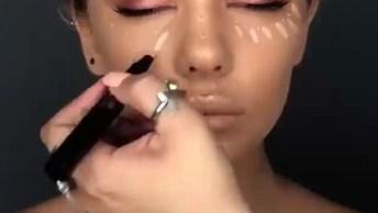 Tutorial De Maquiagem Para Fazer E Arrasar, As Cores Em Bronze Super Combinam!