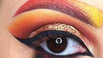Tutorial De Maquiagem Para Festas A Fantasia, Olha Só Que Linda!