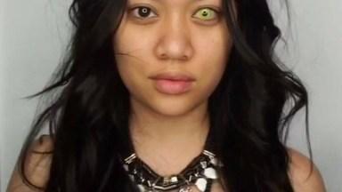 Tutorial De Maquiagem Para Halloween, Olha Só Que Make Linda!