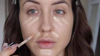 Tutorial De Maquiagem Para Iniciantes, Você Vai Adorar Essa Make Discreta!