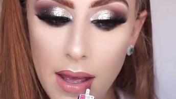 Tutorial De Maquiagem Para Mulheres Ruivas, Compartilhe No Facebook!
