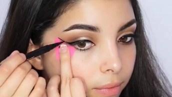 Tutorial De Maquiagem Para O Dia A Dia, Olha Só Como Fica Linda!