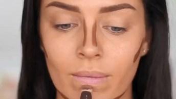 Tutorial De Maquiagem Para O Dia A Dia, Olha Só Esta Preparação De Pele!