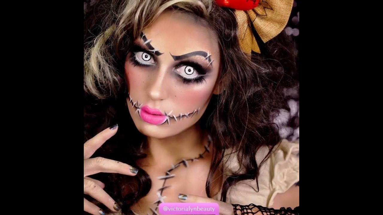 Tutorial de maquiagem para o Dia das Bruxas