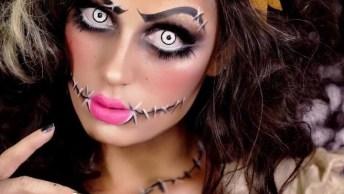 Tutorial De Maquiagem Para O Dia Das Bruxas, Simplesmente Perfeita, Confira!