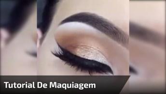 Tutorial De Maquiagem Para Os Olhos Para Te Inspirar, Condira!