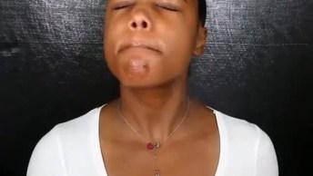 Tutorial De Maquiagem Para Pele Negra, Ficou Muito Linda, Confira!