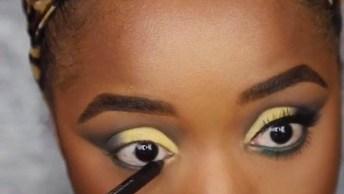 Tutorial De Maquiagem Para Pele Negra, O Resultado É Fantástico!